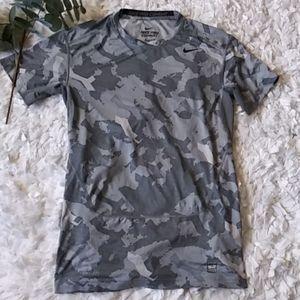 Nike Pro combat compression shirt gray